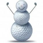 winter golf image